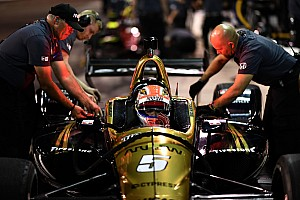 IndyCar Breaking news Schmidt Peterson hunting for Hinchcliffe's oval car issues