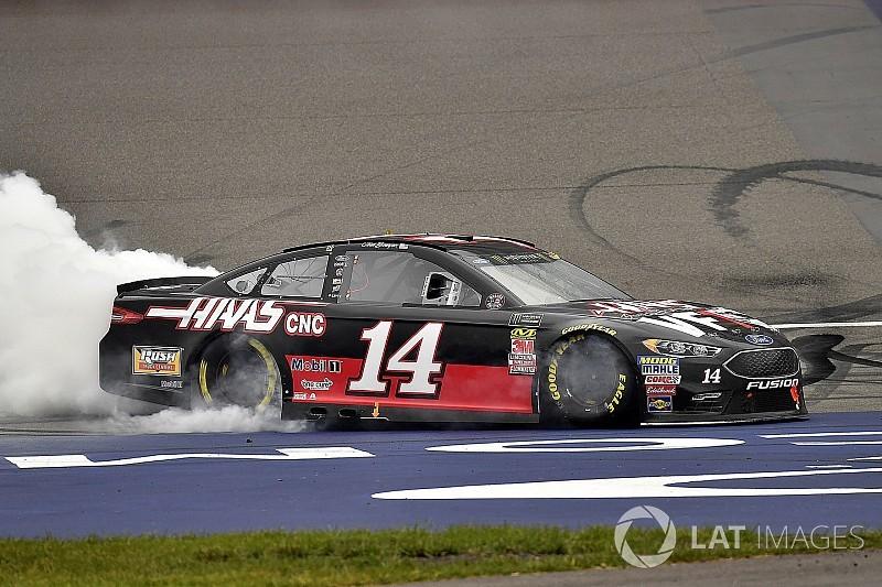 Боуйер выиграл гонку NASCAR в Мичигане
