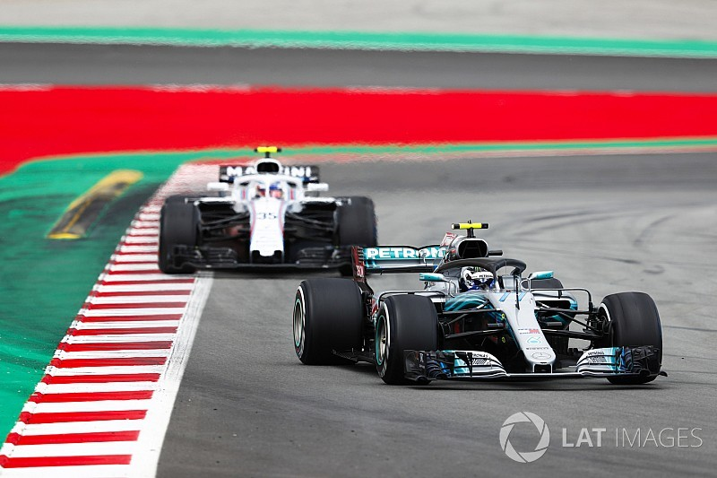 """Bottas was close to """"big trouble"""" in Spain - Mercedes"""
