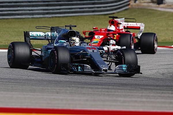 فورمولا 1 تقرير السباق هاميلتون يقترب من البطولة في أوستن ومرسيدس تحسم لقب الصانعين