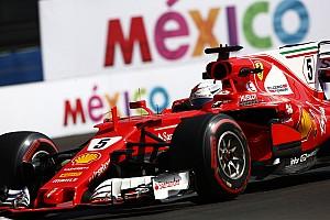 Formel 1 Reaktion Feuerlöscher explodiert im Vettel-Ferrari: