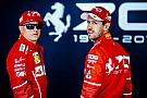 Automotive VIDEO: Vettel y Raikkonen manejan un Alfa Romeo con motor Ferrari