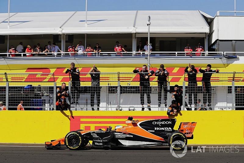 【F1】ホンダ、ダブル入賞も「前半の結果には満足できない」