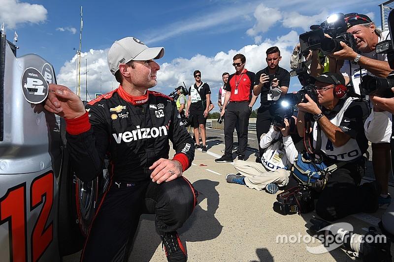 IndyCar у Барбері: Пауер виборов поул