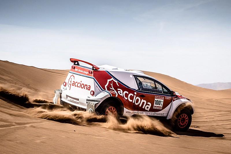 El Acciona eléctrico vuelve a disputar un rally... esta vez en Australia