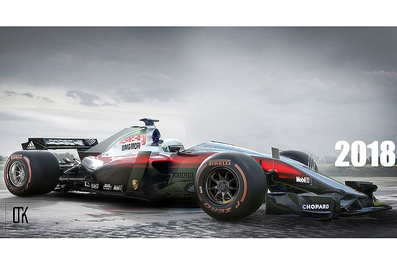 Porsche, 2021 F1 sezonu için motor üretme fikrini değerlendiriyor!