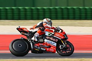 WSBK Actualités Après le MotoGP, Ducati tente la roue carénée en Superbike