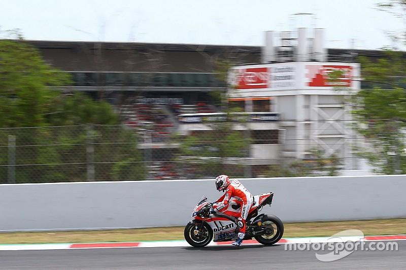 """Dovizioso : """"Très difficile de piloter la moto dans ces conditions"""""""