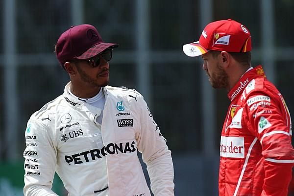 Video: Hamilton waarschuwde Vettel na incident in Baku