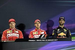 Formula 1 Press conference Monaco GP: Post-race press conference