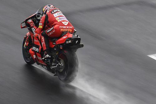 Emilia Romagna MotoGP: Miller tops damp FP2 session