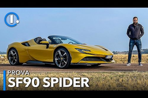Ferrari SF90 Spider, a cielo aperto con la supercar da 1.000 CV