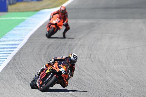 Une course difficile mais un test encourageant pour KTM
