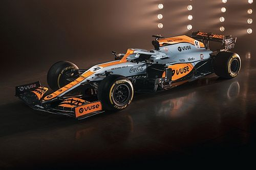 McLaren reveals special Gulf Oil F1 livery for Monaco GP