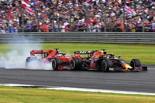 Diaporama : l'accident entre Sebastian Vettel et Max Verstappen à Silverstone