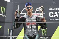 MotoGP Katalonya: Quartararo kazandı, Dovizioso ve Rossi kaza yaptı!