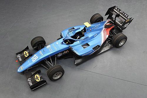 Livery Baru Skuad MP Motorsport Formula 3