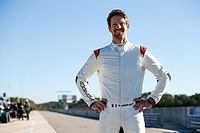 Grosjean a balesete és a fájdalom ellenére is elégedett tesztjével
