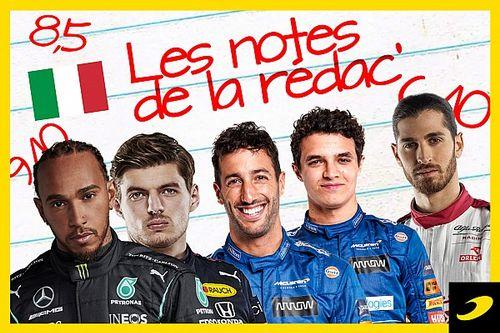 Les notes du Grand Prix d'Italie 2021