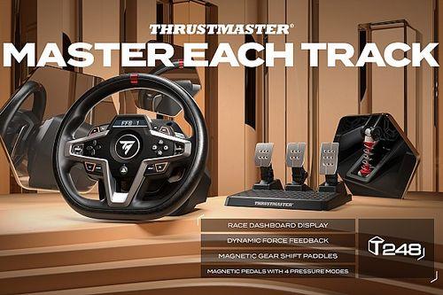 Thrustmaster T248 steering wheel review