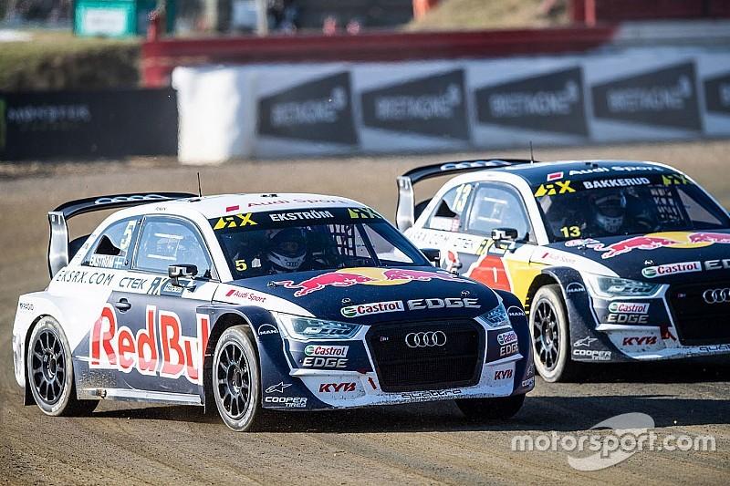 Ekstrom's team pulls out of World Rallycross