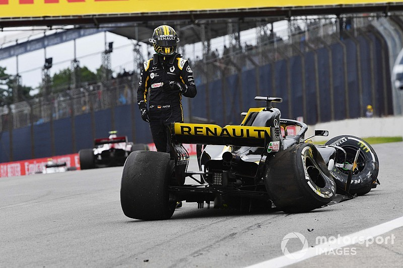 Hulkenberg: Brazil crash result of
