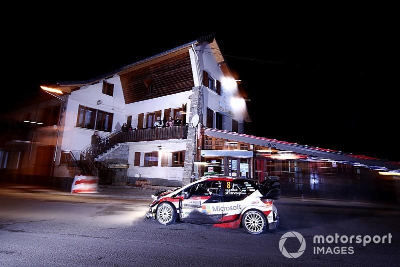 Monte Carlo WRC: Tanak leads, troubles hit Loeb and Meeke