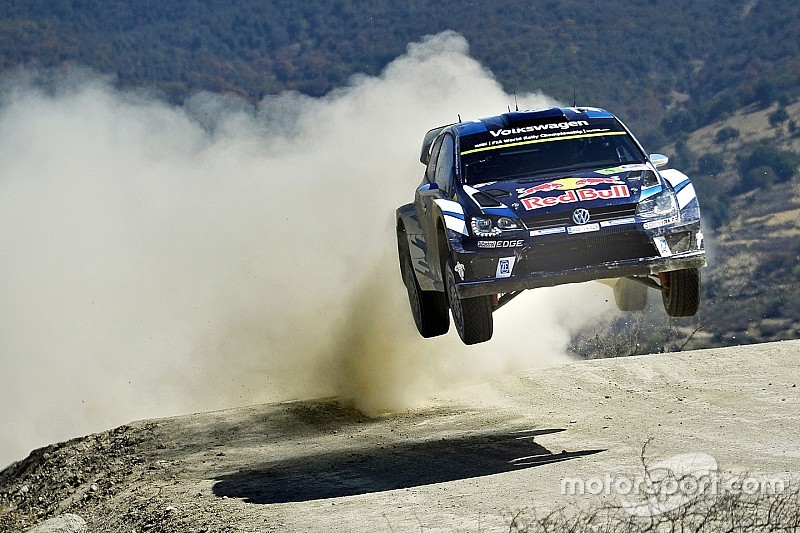 """Ogier """"more than satisified"""" with Mexico pace despite trailing Latvala"""