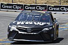 NASCAR Cup Truex passes Allmendinger to win hectic first stage at Sonoma