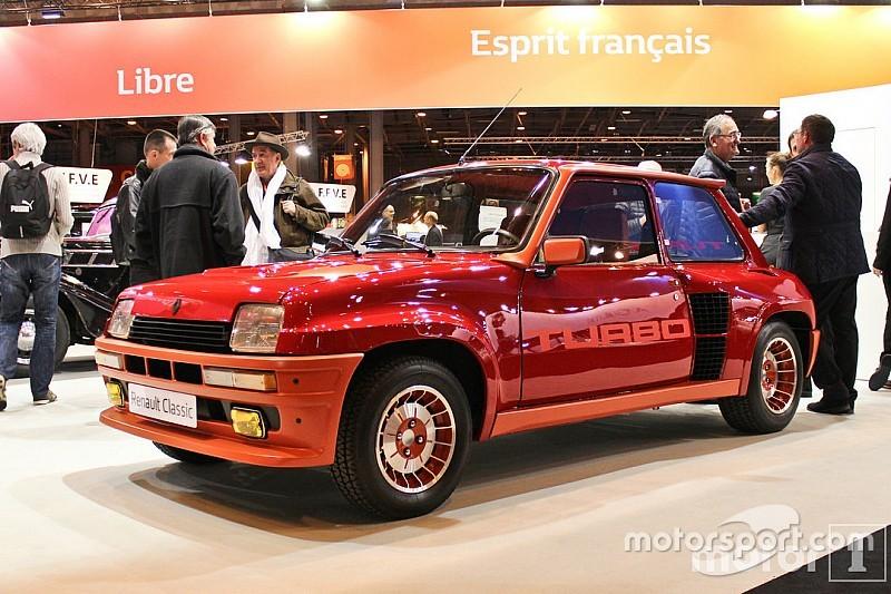Photos - Renault au salon Rétromobile