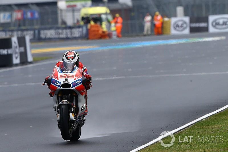 """Lorenzo: """"En mojado, me siento mejor con la Ducati que con la Yamaha"""""""