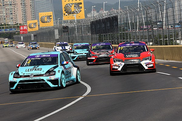 TCR Qualifying report Vernay beats main title contenders to Macau pole