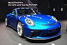 Automotive Blue Porsche 911 GT3 Touring Package Looks Stunning In Frankfurt