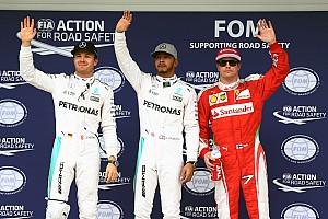 Formula 1 Qualifying report Brazilian GP: Hamilton beats Rosberg to pole at Interlagos