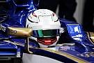 Формула 1 Перший досвід за кермом Формули 1 став особливим для Джовінацці