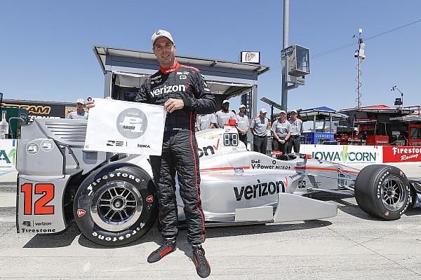 IndyCar Jelentés az időmérőről IndyCar: Will Power idei negyedik pole-pozícióját szerezte Iowában