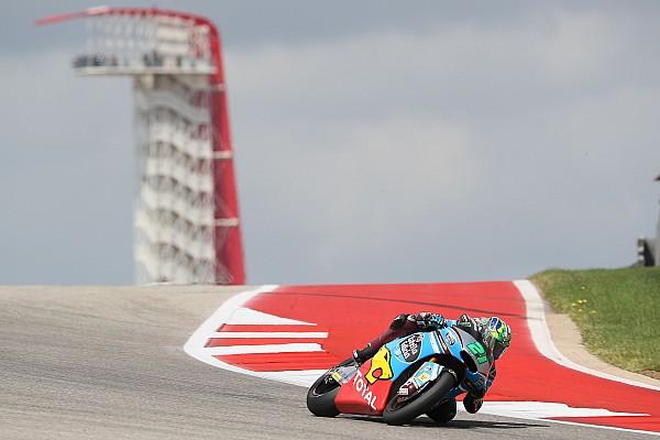 Morbidelli saldrá en pole por delante de Pasini y Márquez