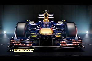 Jeux Video Actualités Une Red Bull parmi les F1 classiques de F1 2017