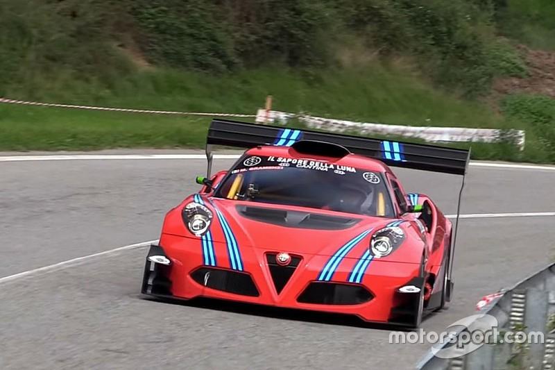 Une Alfa Romeo 4C de 600 ch pour les courses de côte
