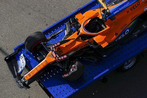 """Sainz sul crash: """"Sono entrato in curva con un angolo pessimo"""""""