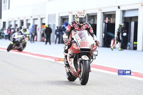 """Nakagami """"not interested"""" in MotoGP title fight"""