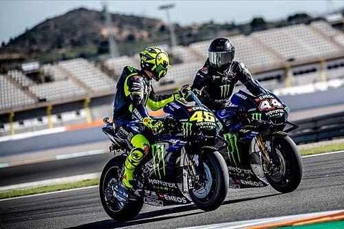 GALERÍA: El intercambio entre Hamilton y Rossi