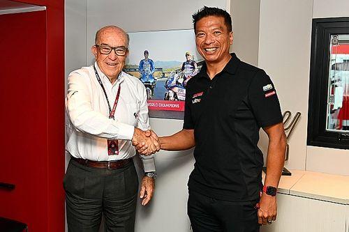 HIVATALOS: RNF MotoGP néven folytatja az SRT csapata!