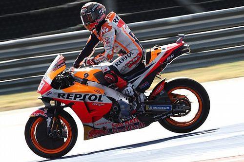 """Marc Marquez labels COTA MotoGP practice pace """"strange"""""""