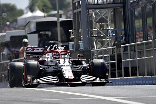 Raikkonen's F1 pitlane clash with Mazepin caused by traffic light issue