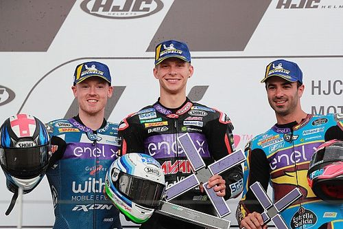 Sachsenring MotoE: Tuuli wins frantic red-flagged opener