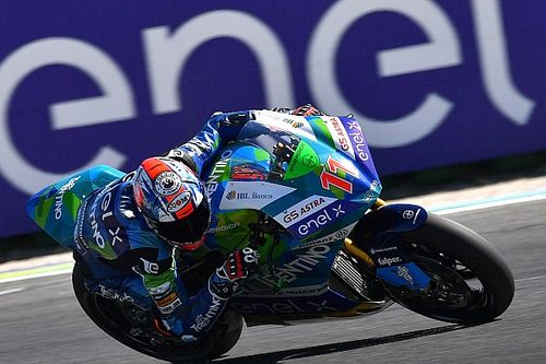 Valencia MotoE: Ferrari takes title as Granado wins again