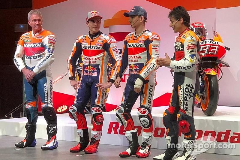 Honda presenta un equipo de ensueño con Márquez y Lorenzo