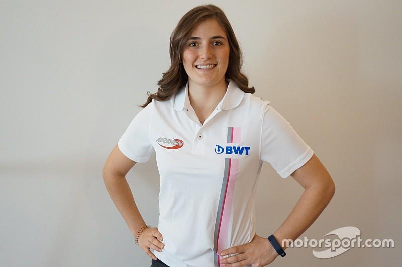 Tatiana Calderón será la primera mujer en correr en la Fórmula 2