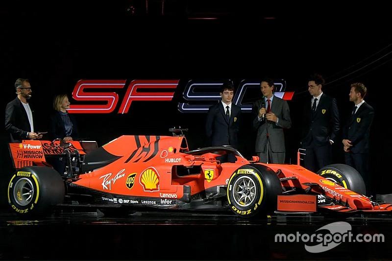 New Ferrari F1 car features
